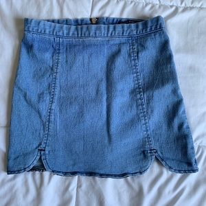 Brandy Melville Raquel Denim Skirt
